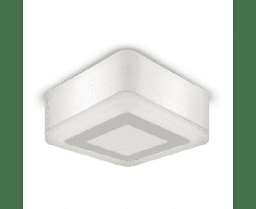 Светильник LED квадрат накладной 6+3W 4000K 145*145