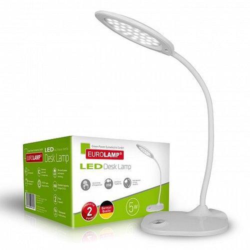 Светодиодный настольный светильник EUROLAMP LED в стиле хайтек 5W 5300-5700K (white)
