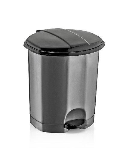 Ведро мусорное с педалью DUNYA PLASTIK ТУРЦИЯ (26,4 x 25,7 x 32,8СМ) 11 л. 01012