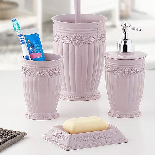 Набор 4-х предметный для ванной комнаты URVE PLASTIK ТУРЦИЯ UR-3200