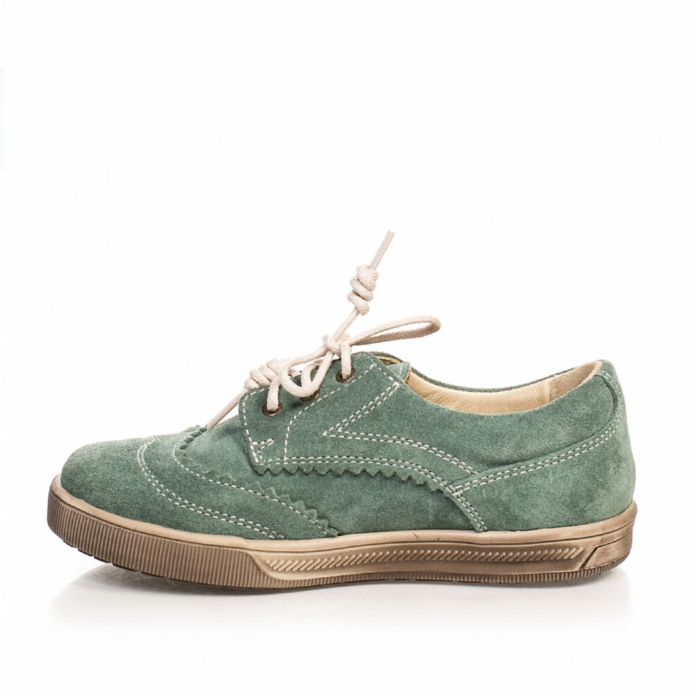 Кеды зеленые