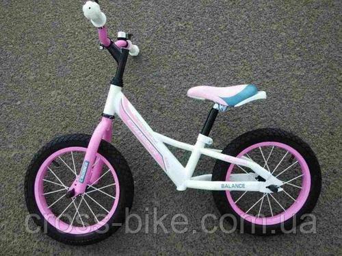 Детский двухколесный беговел Balance bike Crosser 14 дюймов
