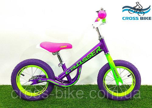 Беговел детский, велобег двухколесный Crosser Balance New 12 дюймов (кроссер баланс)
