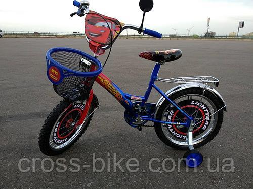 Детский двухколесный велосипед Тачки Azimut 20 дюймов