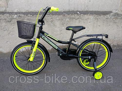 Детский двухколесный велосипед Crosser ROCKY 12 дюймов (Кроссер Рокки)