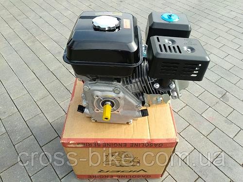 Двигатель на мотоблок Зубр 168 F-1(6,5 л.с бензиновый) Вайпер. 19 вал