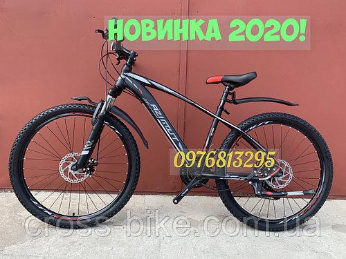 Взрослый спортивный велосипед Azimut NEVADA (Азимут НЕВАДА) 26 дюймов рама 15,5