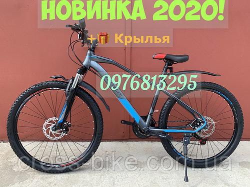 Взрослый спортивный велосипед Azimut Гемин (Азимут Gemin) 29 дюймов рама 17