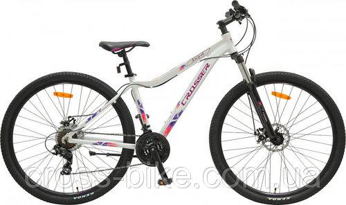 Горный велосипед женский Crosser 26 Angel рама 16,5 БЕЛЫЙ