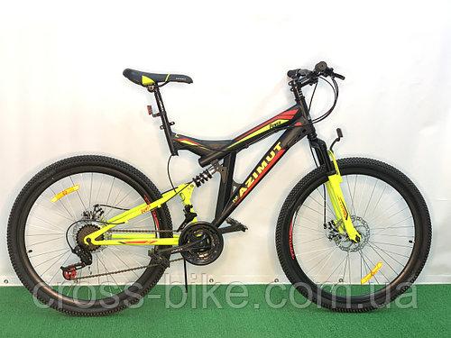Взрослый спортивный горный велосипед Azimut Power 26 дюймов 19 рама
