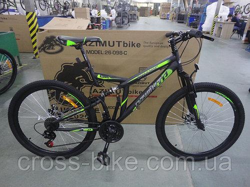 Взрослый горный велосипед 26 дюйма Azimut Dinamic спортивный Азимут Динамик +