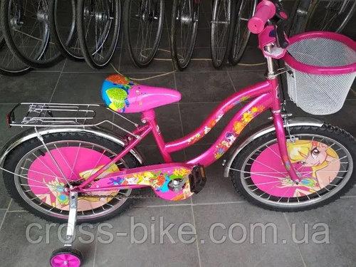 Детский двухколесный велосипед Azimut Винкс 16 дюймов
