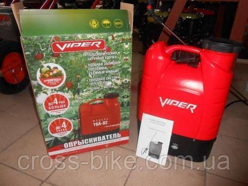 Опрыскиватель садовый электрический Viper 16А-02