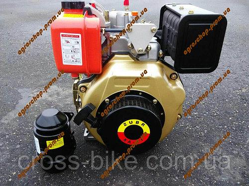 Дизельный двигатель ЗУБР (Zubr) 178F 6 л.с (ручной стартер) ZUBR (нт 105) ОРИГИНАЛ