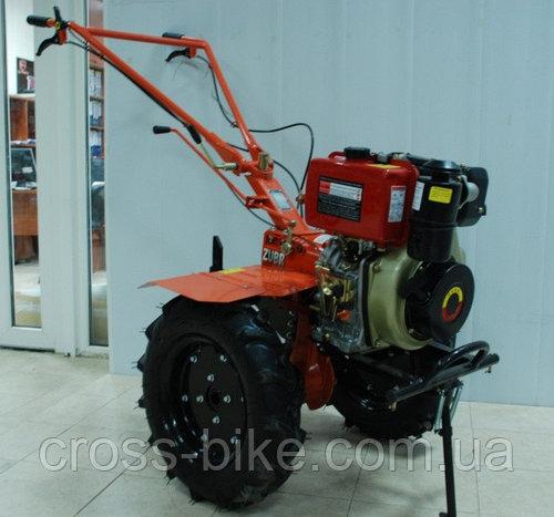 Мотоблок дизельный Зубр HT-135 (9л.с.) ручной стартер zubr ht-135 Гарантия 1 год!