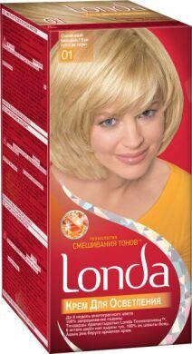 Крем для осветления волос Londacolor Professional технология смешивания тонов 01 Солнечный 130 мл