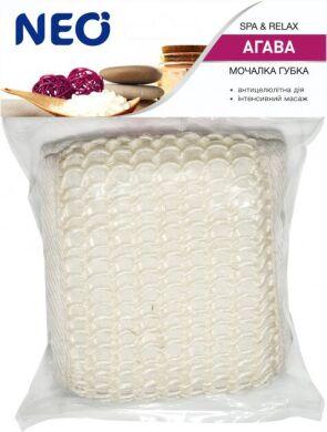 NEO мочалка губка банная из агавы (сизаль)