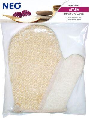 NEO мочалка варежка банная из агавы (сизаль)