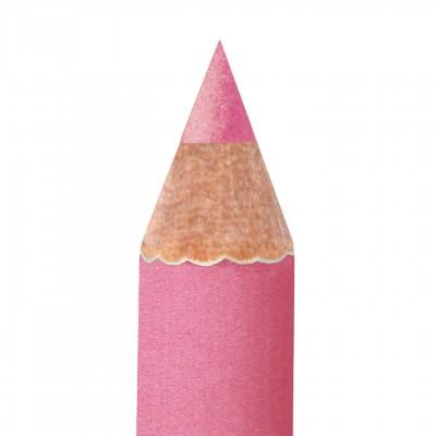 Карандаш для губ перламутровый с кистью для растушевки