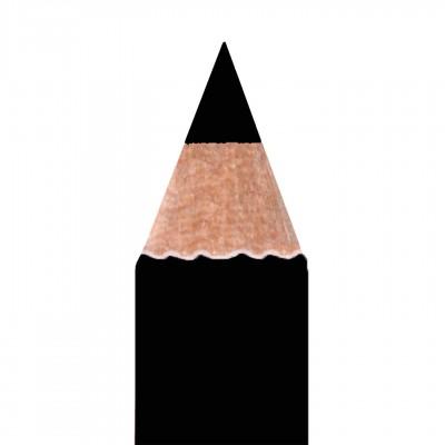 Карандаш для глаз матовый с кистью для растушевки