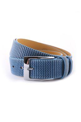 Ремень мужской, 12546 (голубой)