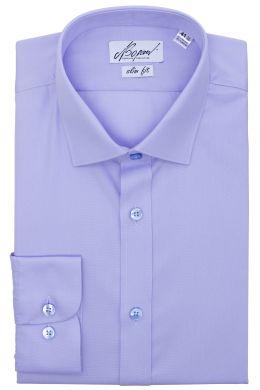 Рубашка мужская классическая VK-187N (св/фиолетовый)