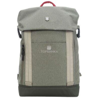 "Рюкзак Victorinox Altmont Classic Deluxe Flapover Laptop Vt602142 Olive с отделением для ноутбука до 15.4"""