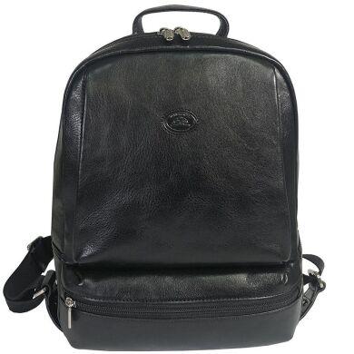 Женский рюкзак из натуральной кожи Tony Perotti Tuscania 9204 nero (черный)