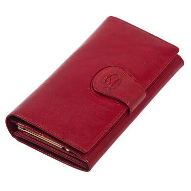 Женский кошелек из натуральной кожи Tony Perotti Accademia 1526 красный