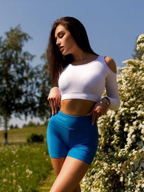 "Шорты bona fide: bona corsage shorts ""blue sky"""