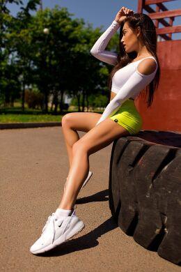"Шорты bona fide: bona corsage shorts ""lyme"""