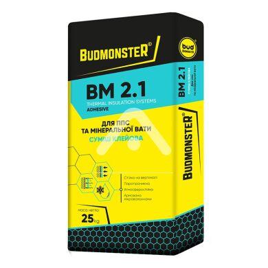 Клей для ППС и минваты BudmonsteR BM 2.1, 25 кг BudMonster