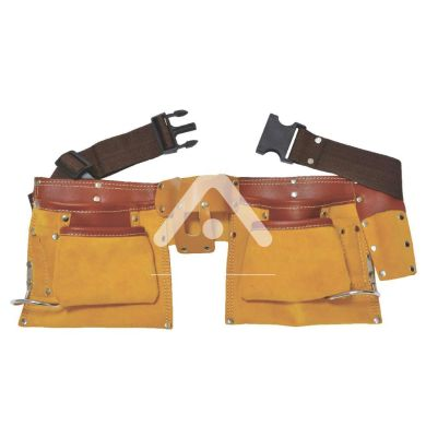 Пояс слесарный кожаный, 12 карманов Sigma