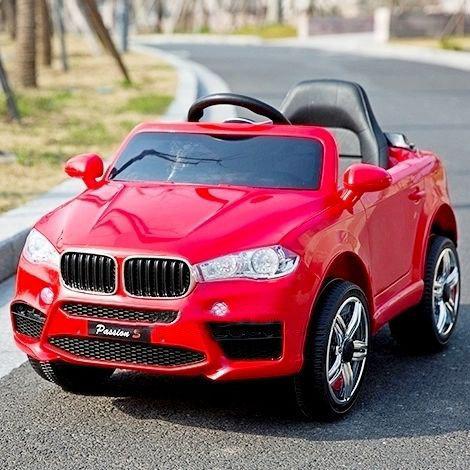 Детский электромобиль джип BMW FL 1538 Красный