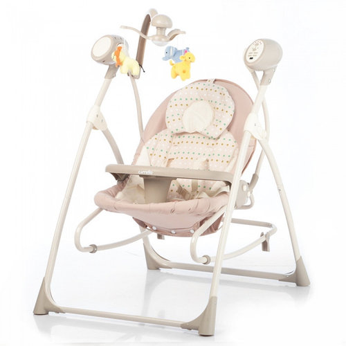 Кресло-качалка CARRELLO Nanny Beige