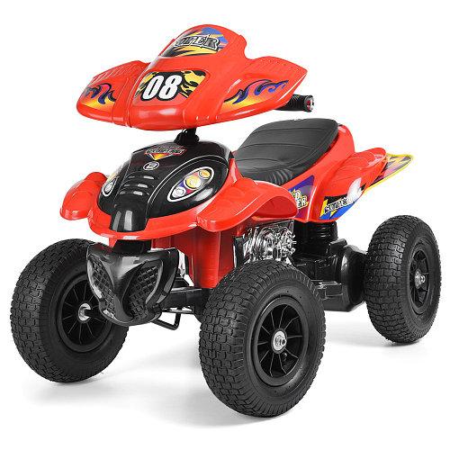 Квадроцикл детский M 2403ALR-3 красный