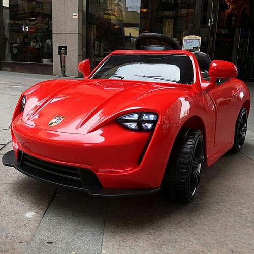 Детский электромобиль Porsche FL1718 Красный