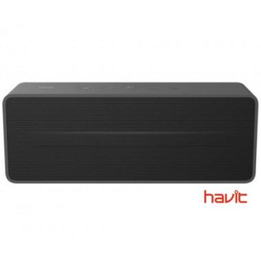 Портативная колонка HAVIT HV-M67 с FM-радио, MicroSD Card и стереозвуком, черная (24739)