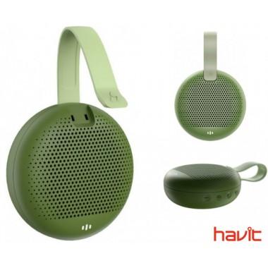 Водонепроницаемая портативная колонка HAVIT HAKII MARS green (25597)