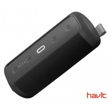 Водонепроницаемая ударопрочная портативная колонка HAVIT HAKII CHEER black/gray с NFC, подключением TWS и функцией Power Bank (25598)