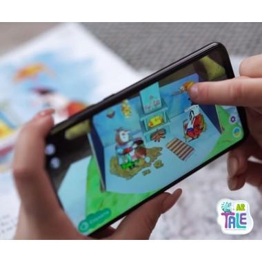 Интерактивная развивающая игрушка с дополненной реальностью TaleAR Тангоуз PLUS с дополнительными заданиями