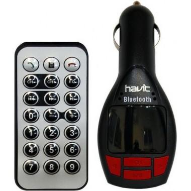 FM-трансмиттер HAVIT HV-FM50BT Bluetooth, Hands Free, MicroSD, USB , AUX