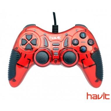 Джойстик игровой HAVIT HV-G85 USB+PS red