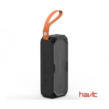 Водонепроницаемая портативная колонка Havit HV-М60 с FM-приемником, функцией Power Bank, встроенным микрофоном и стереозвуком (24538)