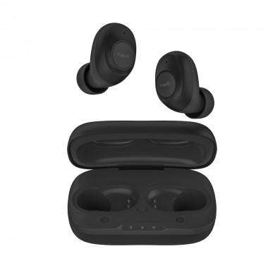 Беспроводные наушники HAVIT HV-TW901 Bluetooth с микрофоном и беспроводной зарядкой, черные (25340)