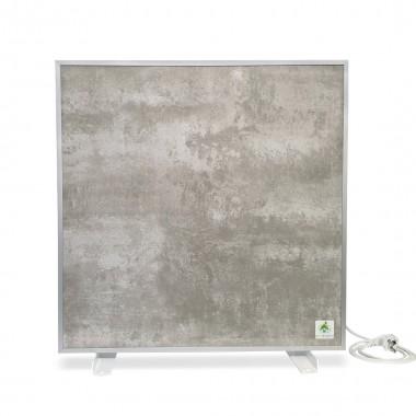 Биоконвектор - керамический обогреватель Ecoteplo AIR 400 МE GL на 10 кв.м. с терморегулятором и повышенной влагозащищенностью, серый лофт