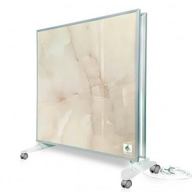 Биоконвектор - керамический обогреватель Ecoteplo DUO 1000 КМ на 20 кв.м. с трехсторонним обогревом, терморегулятором и ножками в комплекте, королевский мрамор