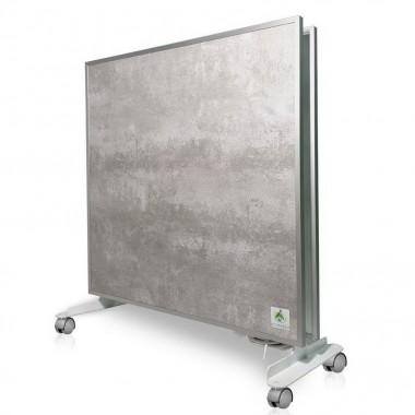 Биоконвектор - керамический обогреватель Ecoteplo DUO 1000 GL на 20 кв.м. с трехсторонним обогревом, терморегулятором и ножками в комплекте, серый лофт