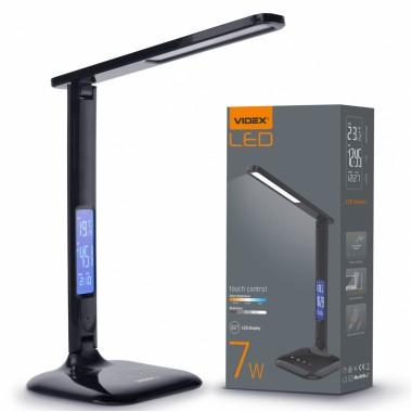 Светодиодная настольная лампа VIDEX VL-TF05B 7W 3000-5500K 220V (25945)