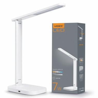 Светодиодная настольная лампа VIDEX VL-TF12W 7W 3000-5000K 220V (25947)